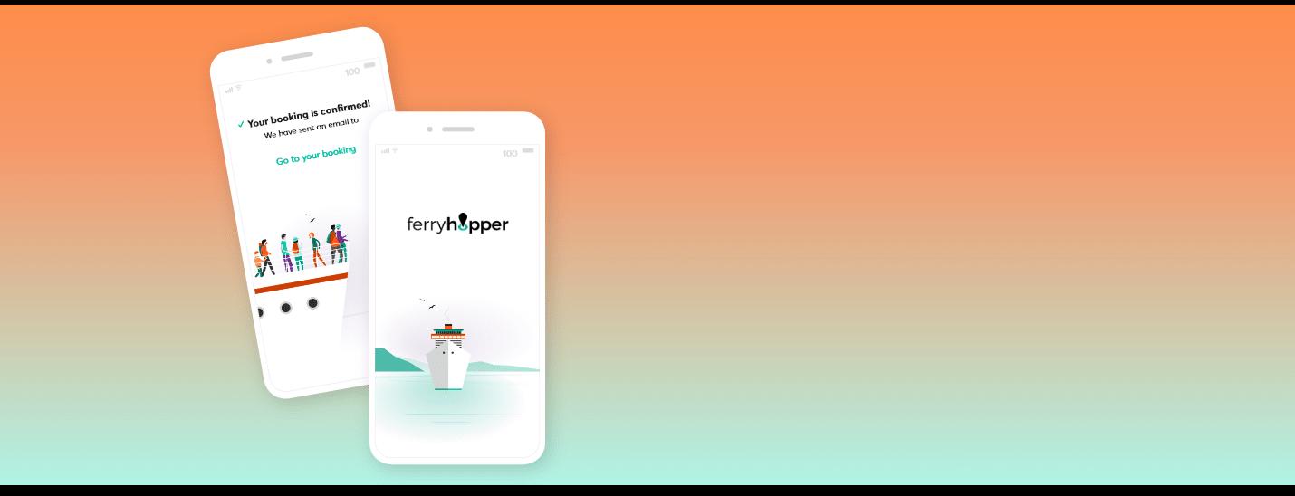 Behold the Ferryhopper App!