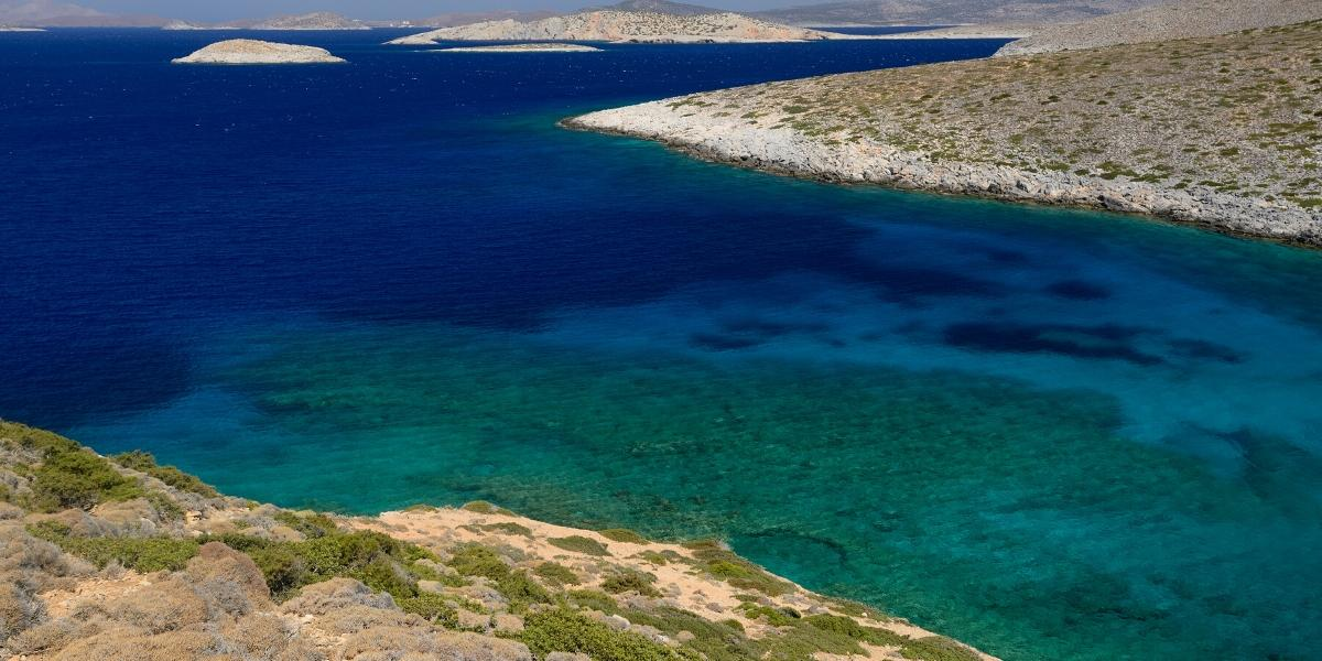 blue waters, beach, nature, Astypalea