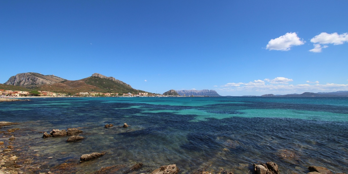 The sea of Olbia, port in Sardinia, ferry routes and cheap ferry tickets to and from Italy