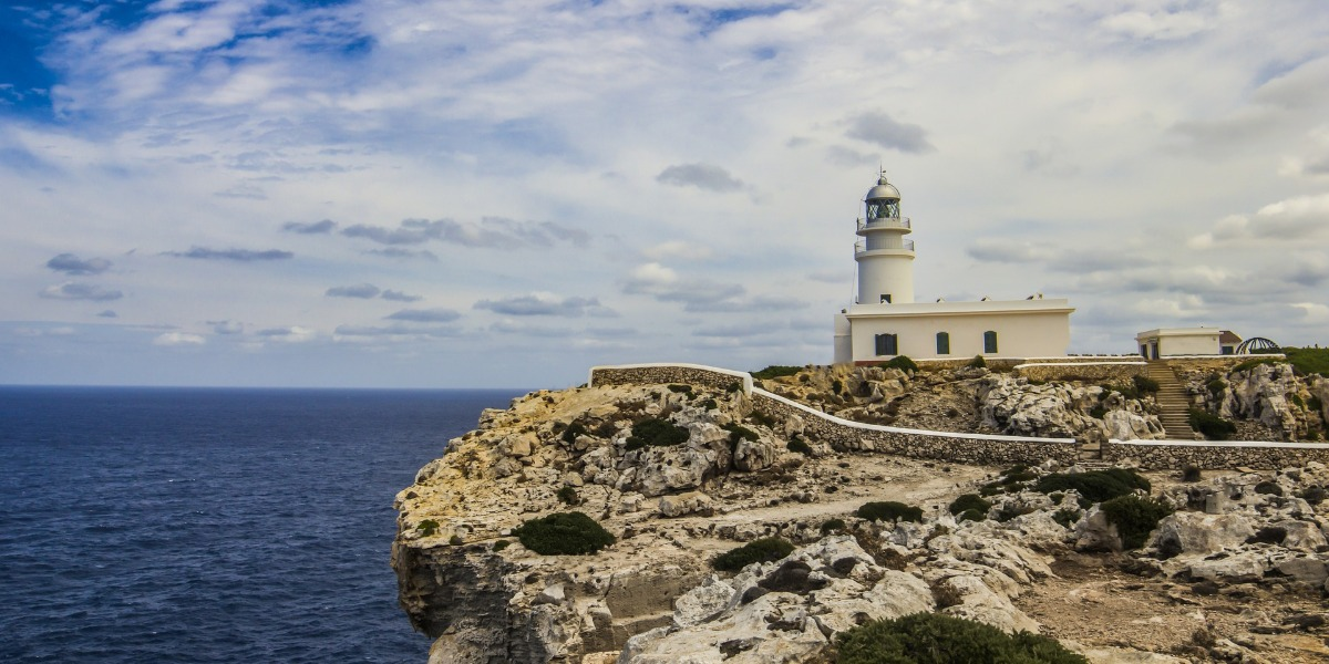 Rocks, Lighthouse, Sky, Port, Menorca, Mallorca, Ciutadella, Holidays, Ferry tickets