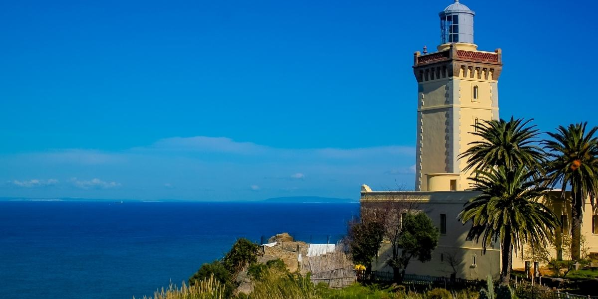 The Cape Spartel lighthouse in Tangier