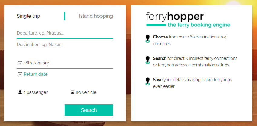choosing your direct ferry trip