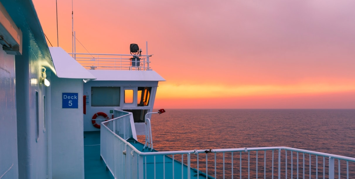 Ferry trip to Lanzarote, Sunset view, Huelva, Ferry tickets, Vacation