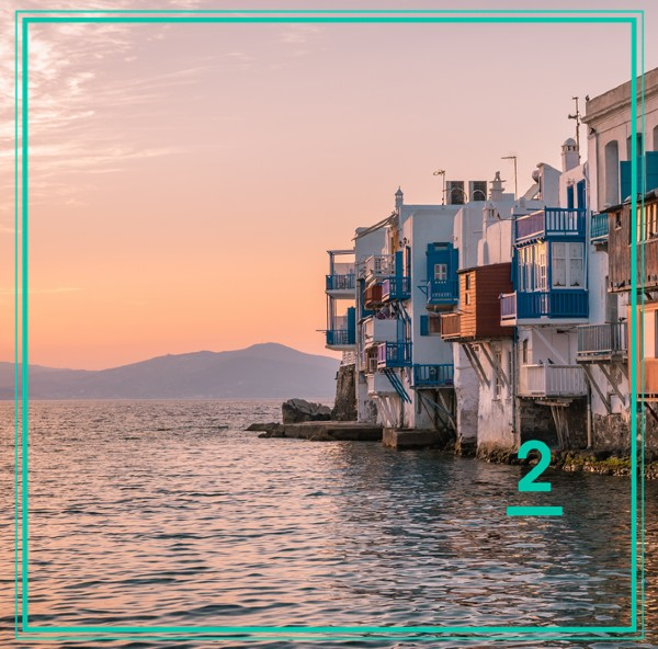 Mykonos - the second most visited island for 2019 - Ferryhopper countdown