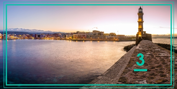 The old port of Chania - Crete is the third favourite destination for 2019 - Ferryhopper