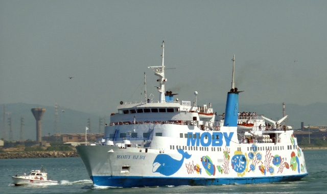 moby ferry in Italy - ferry company in Italy