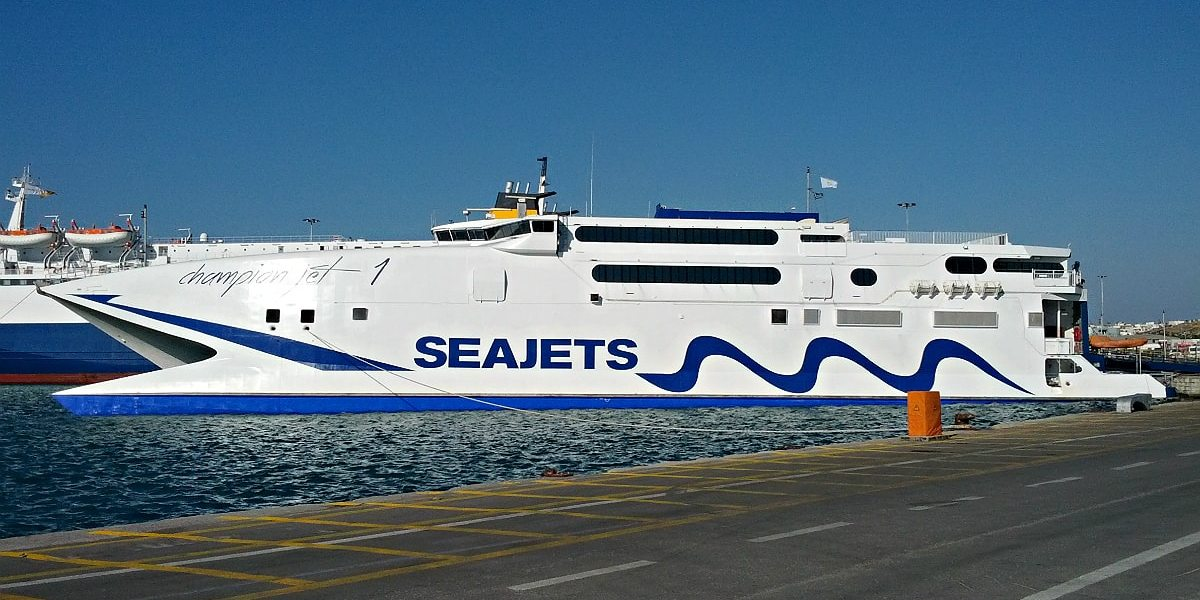 Seajets is about to announce e-ticket for ferries travelling in Greek islands