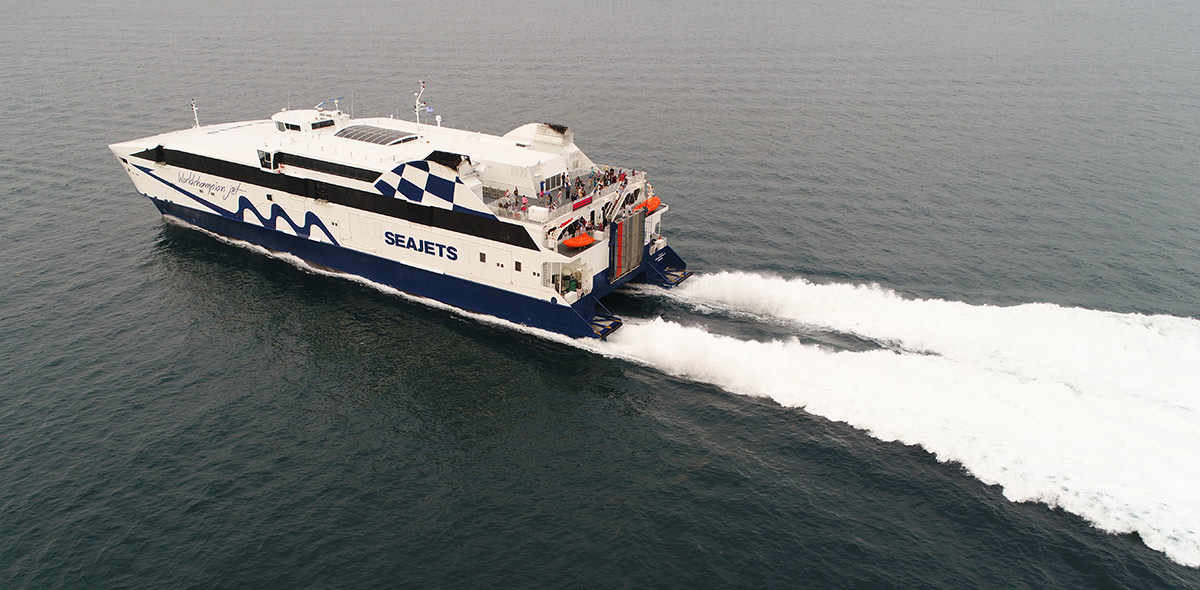 Book E-ticket and check-in online ferry tickets with Seajets