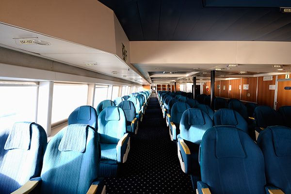 travel fast and in comfort with Seajets high speed ferry