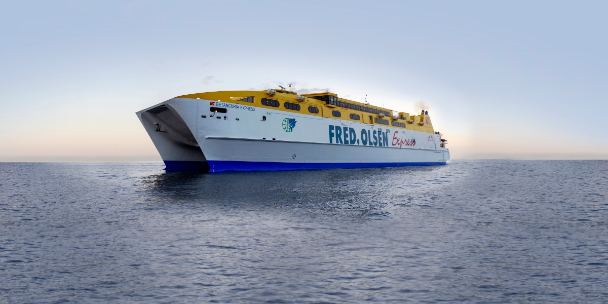 Traveling with Fred Olsen Express' largest catamaran