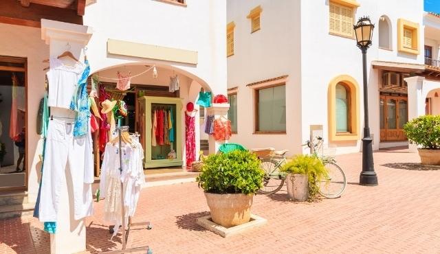 ibiza, san carlos, bohemian clothes, shop, summer holidays, building