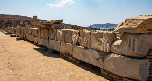 Ancient site in Delos