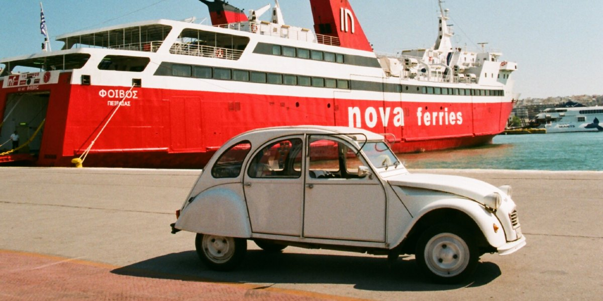 How to transfer an unaccompanied vehicle by ferry?