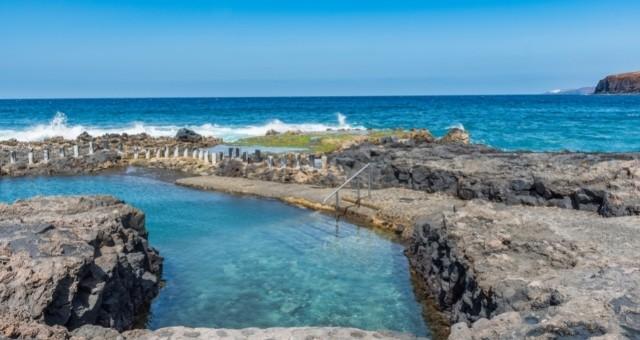 Las Salinas natural pools in Gran Canaria