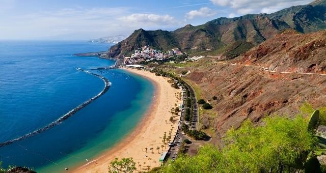 Las Teresitas beach in Tenerife