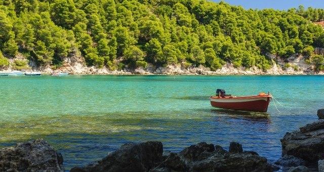 Milies beach in Alonissos