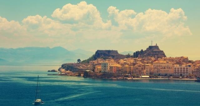 Korfus Hafen