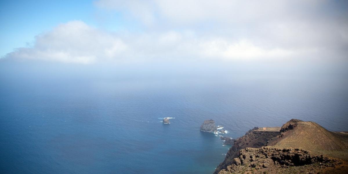 Meerblick um El Hierro