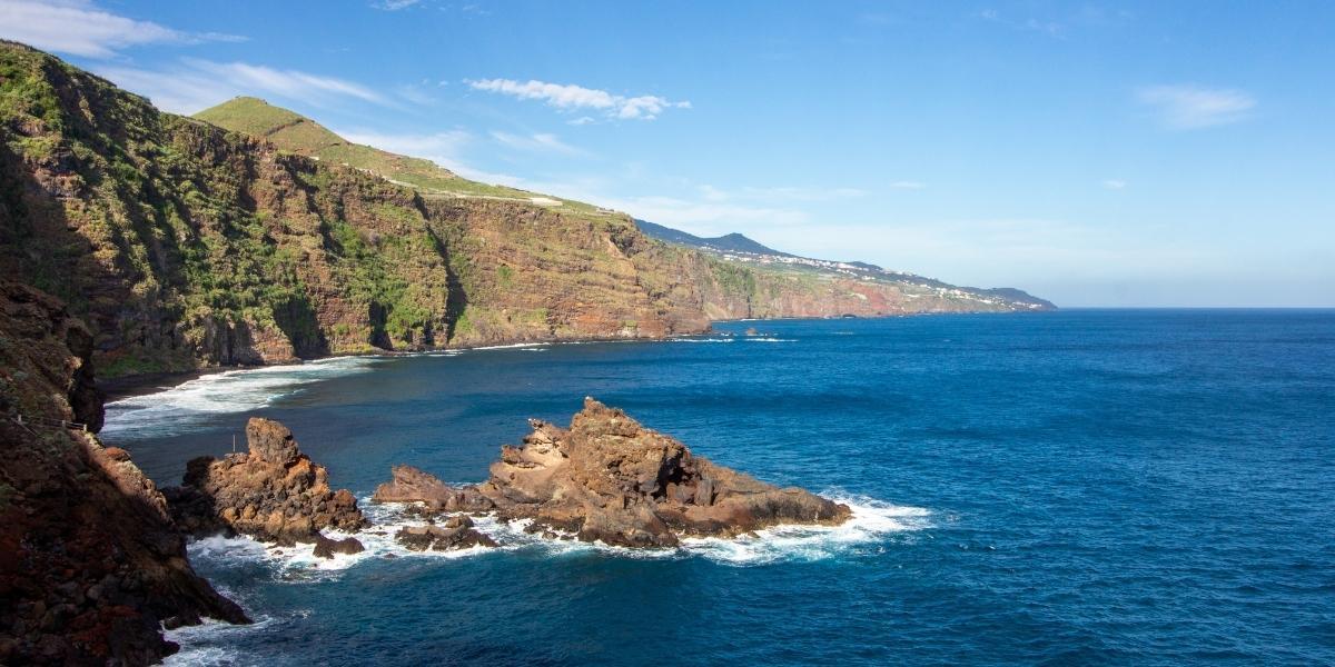 Die Küste von La Palma