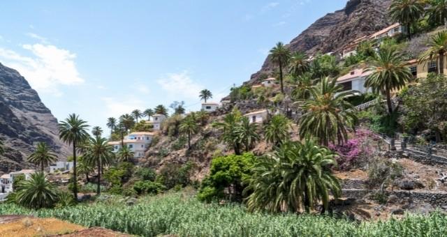 Valle Gran Rey, en La Gomera