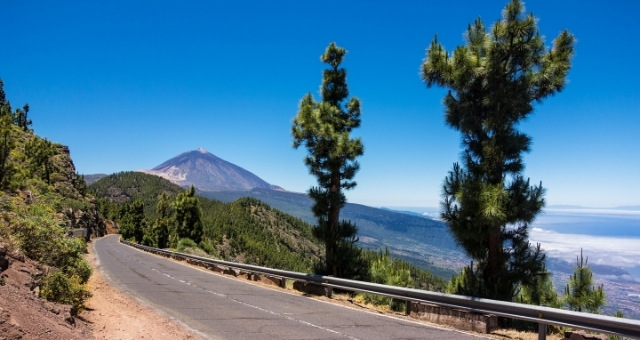 Stradine di montagna a Tenerife