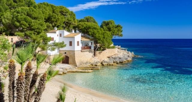 The Cala Gat beach in Mallorca