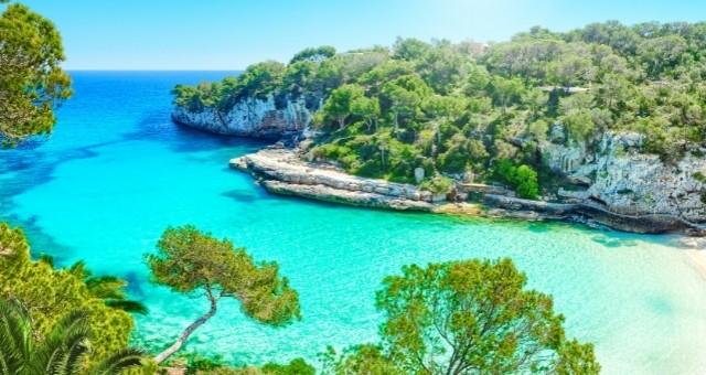 The Cala Llombards Beach in Mallorca