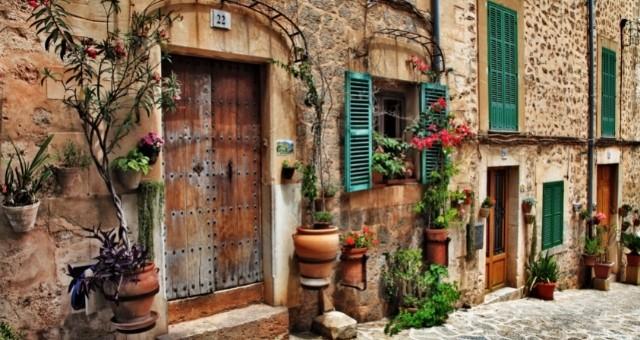 The Valdemossa village in Mallorca