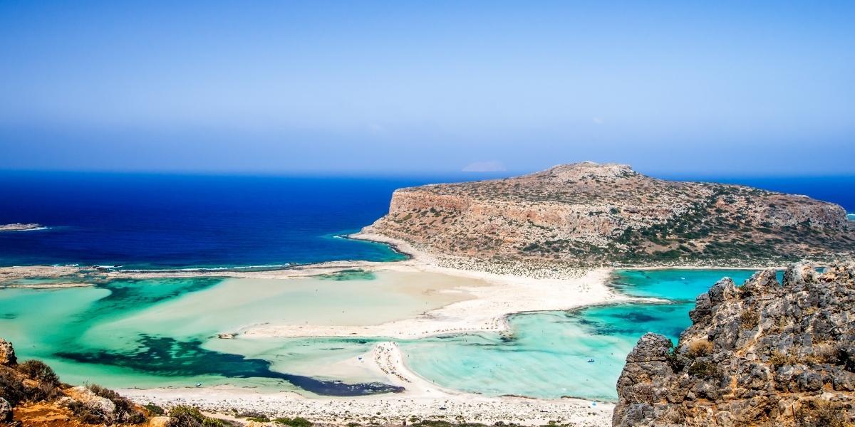 The Elafonisi Beach in Crete