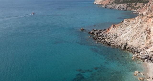 Sea view in Milos