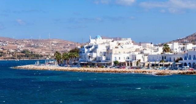 View of Naoussa of Paros