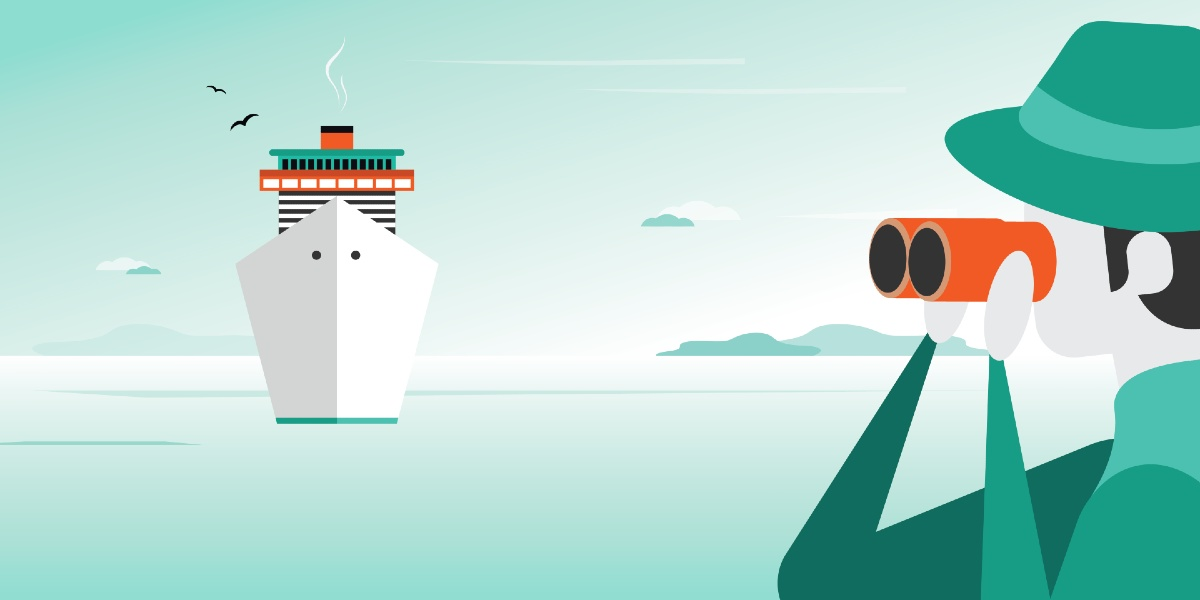 Track your ferry on the Ferryhopper App