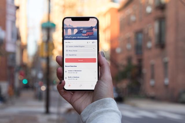 Omio mobile app