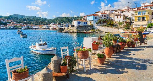 Kokkari village in Samos