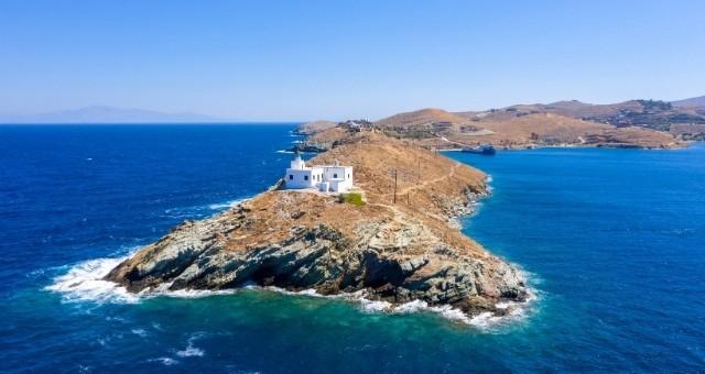 The lighthouse of Kea