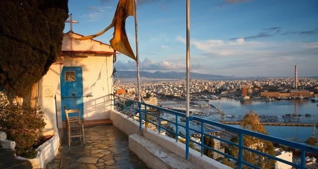 Chapel above the port of Piraeus