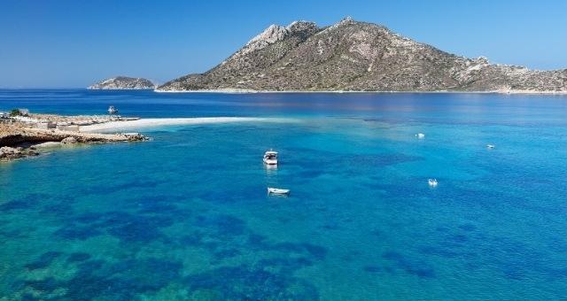 Agios Pavlos beach in Amorgos