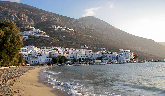Amorgos island summer holidays in Greece