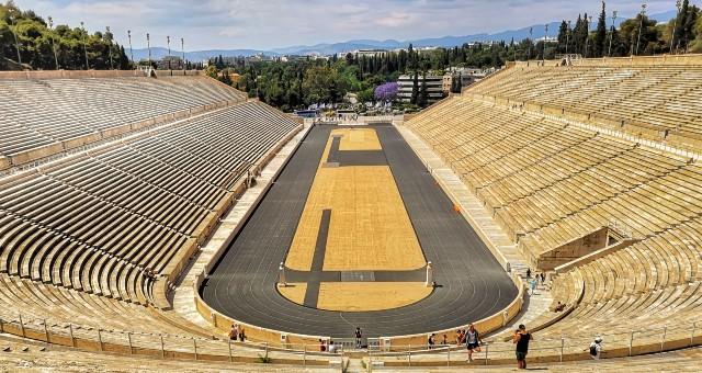 El Estadio Panathinaikó de Atenas