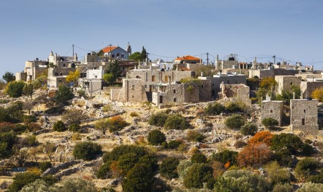 Το χωριό Αυγώνυμα στη Χίο