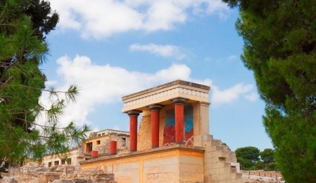 The Minoan Palace of Knossos