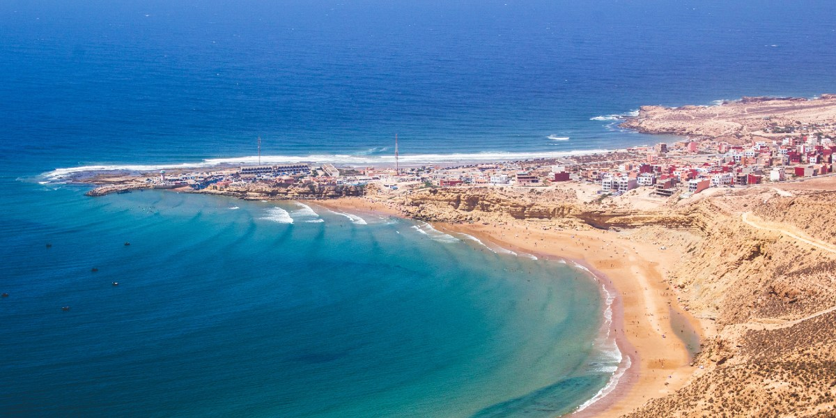 Beach in Morocco, coast city, holidays, port, Nador, Al Hoceima, Tangier, Tanger-Med