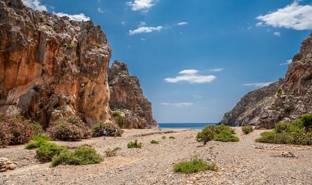 Agiofarago gorge in Crete