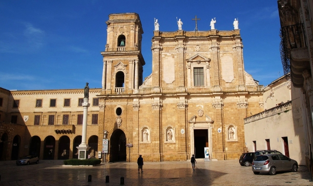 The Church of Santa Maria, Brindisi, culture, tradition, holidays in Italian coast, ferry tickets to Greece