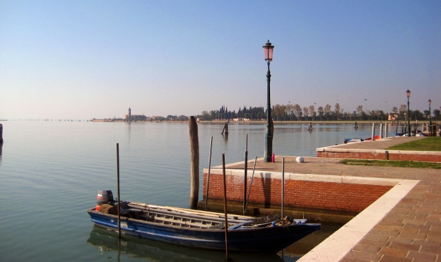 Promenade and gondola in Venice, traveling by boat, lagoon, holidays in Italy, ferry tickets