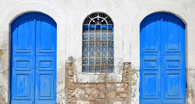 House of traditional architecture in Kastellorizo