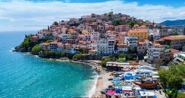 La péninsule de la vieille ville de Kavala