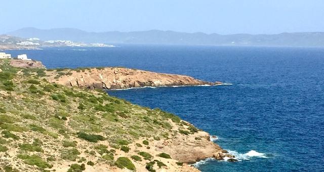 Λαύριο, θάλασσα, ακτές, κόλποι, άσπρα σπίτια, θάλασσα, νησιά