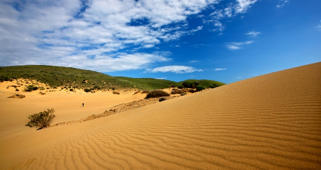 Sand dunes in Lemnos: a rare phenomenon in the Greek islands