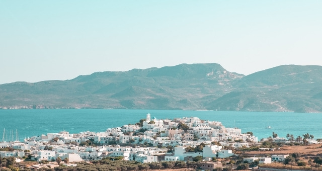 The village and the port of Adamantas